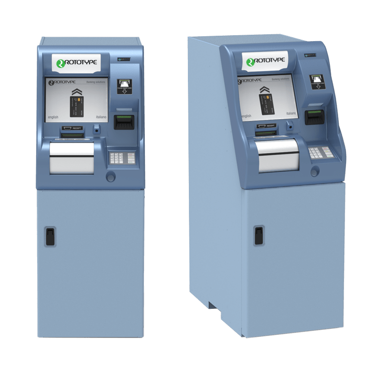 Self service machine for deposit cash and cheque