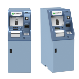 MDS 9000 cash and cheque deposit machine